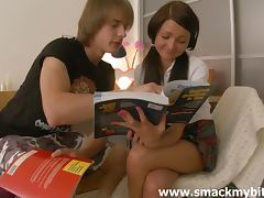 Sexy Ilina gets fucked after doing her homework