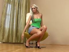 Miniskirt, Amateur, Babe, Beauty, Blonde, Erotic