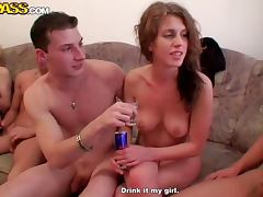 Blondie Sucks A Cock Until I't s Hard Enough For Her To Ride In A Sex Party porn video