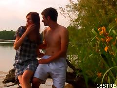 Amazing Sunset Sex With The Naughty Teen Viola