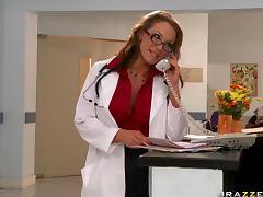 Nurse, Ass, Big Tits, Blonde, Blowjob, Bra