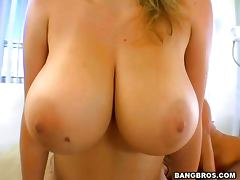 is about very lucky guy who fucks two busty babes porn video