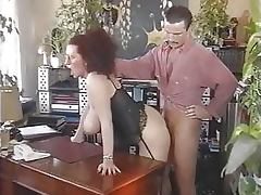 Mature Diana Siefert Gets Fucked Wearing Sexy Lingerie in a Retro Porn Scene