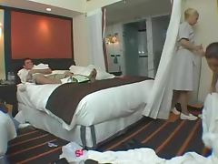Horny Maids Have A Wild Foursome With Hotel Hosts porn video