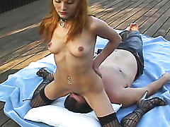 Facesitting, Cute, Facesitting, Femdom, HD, Lick