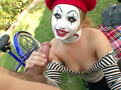 All, Blowjob, Clown, Hairy, Outdoor, Reality