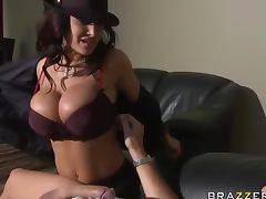Mom, Big Tits, Brunette, Cougar, Facial, Lick