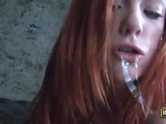Dani The Redhead Thinks Dick is Delicious