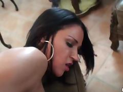 Abagelle Banks and Veronica Von Lesbian Routine