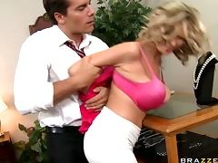 Busty Blonde Slut Katie Kox Loves Dominance Games and Rough