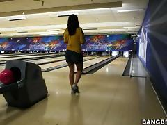 Bowling with Charley Chase Katie Angel and friends