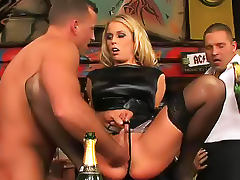 Fisting, Babe, Banging, Beauty, Blonde, Clothed