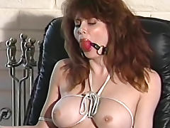 Vintage bondage movie with gagged girls