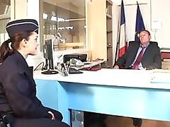 Hot French Customs Broker Gets Ass Banged and Jizzed