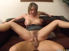 Hairy Mature, Big Tits, Facial, MILF, Office, Sex