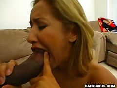 All, Blonde, Blowjob, Interracial