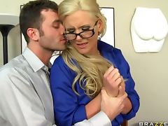 Blonde Busty Teacher Phoenix Marie Teaching How To Fuck porn video