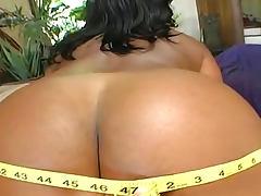 Big natural boobs black girl takes a fuck