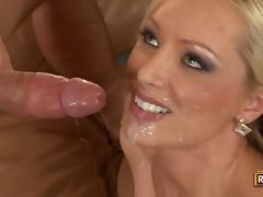 All, Babe, Blonde, Doll, Facial, Monster Cock