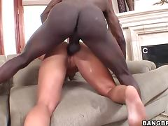 Kendall Fox Sucks and Fucks a Big Black Cock