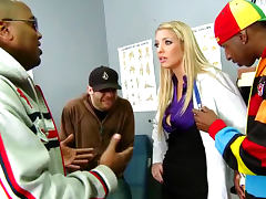 Horny MILF Doctor Wants a Black Cock For Payment