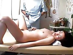 Busty Japanese Babe Gets a Sexy Massage and a Hot Fuck porn video