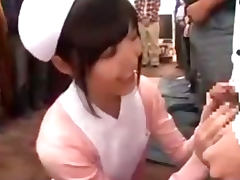 Blowbang, Bukkake, Costume, Hospital, Japanese, Nurse