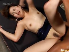 Gorgeous Japanese Girl Sayaka Hagiwara Fucked in Sex Dungeon by Horny Dude