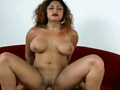 Dark lipstick is sexy on a curvy fuck slut