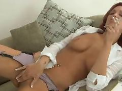 Smoking Fetish Jayden smoking and masturbating