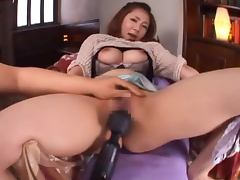 Minori Hatsune fucks a dude and gets a facial cumshot