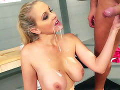 Julia Ann fitness fuck after workout porn video