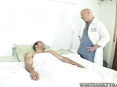 Transsexual nurse and a doctor try to cure a patient