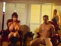 Threesome with mistress porn video