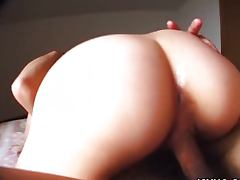 Hot ass Maki Hoshino nailed hard