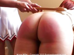 Spanking Allaura Shane and Alison Miller