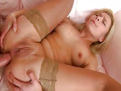 Shaved Pussy, Ass, Couple, Cumshot, Ethnic, Penis