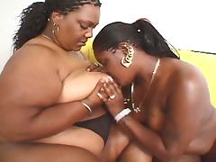 Ebony chicks lez be hippos