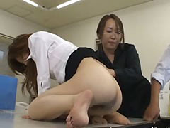 tokyo secretary from Tokyo with ass milk