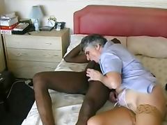 10 Inch, 10 Inch, Aged, Big Cock, Granny, Interracial