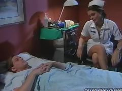 Nurse, Blowjob, Cowgirl, Cumshot, Doggystyle, Hospital