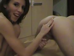Housewife, Amateur, Housewife, Husband, Strapon, Wife