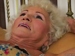 Afternoon Delight for Old Horny Masturbating Granny