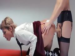 Neverending strap on girl2girl action