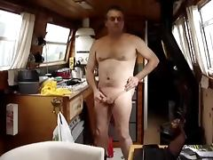 Canal Boat Wank Part 2