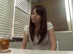 Japanese hottie Yuri Sakano gets her sweet snatch pounded from behind