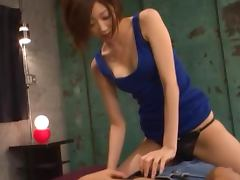 Lovely Big Eyed Japanese Babe Gets Nailed