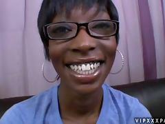 POV Blowjob From Ebony Slut Taylor Starr