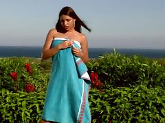 Hot Brunette Taking A Piss Outdoors porn video