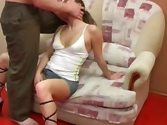 Deepthroat sex hard oral deep
